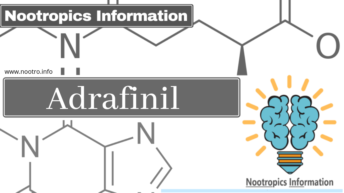 Adrafinil: Uses, Effects, Reviews - Nootropics Information