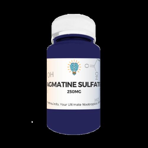 Agmatine Sulfate Nootropics Dubai UAE Nootro Info Product Label